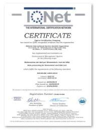Certificazioni Daphne Lab